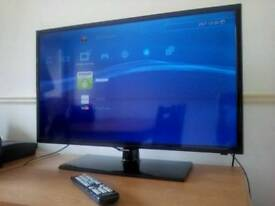 SAMSUNG 32 INCH FULL HD 1080P LED TV WITH REMOTE AND STAND NOT SONY LG PANASONIC