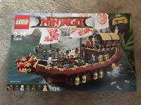 Lego The Ninjago Movie Destiny's Bounty New In Sealed Box 70618