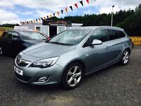 2011 Vauxhall Astra 2.0 CDTI, 12 Months Warranty, 2 Years MOT, Finance available, PX welcome