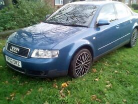 Daughter in Laws Audi A4 SE Saloon