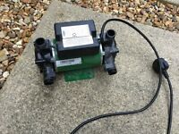 Salamander shower pump in good used condition