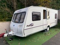 Bailey Bordeaux 2005 fixed bed- 4 berth with motor mover.