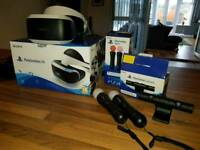 PS4 VR with camera and PS Move