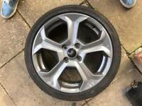 Ford Fiesta st3 alloy wheel 2014 2017