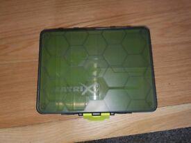Matrix feeder storage box double sided