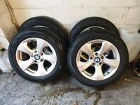 Alloys wheeks with tyres BMW used