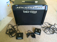 "Trace Elliot Tramp 65w RMS 3 Channel Guitar Amp Valve/Solid Combo with 12"" speaker"