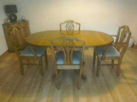 Ducal Victorian pine dining table