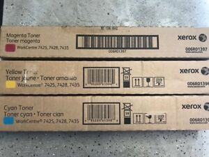 Xerox toners for WorkCentre 7425/7428/7435 Original, New