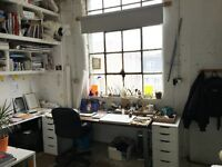 Studio share, desk space by Angel Tube Station