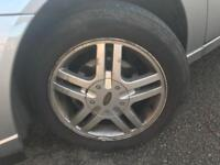 Ford Focus zetec alloys and tyres