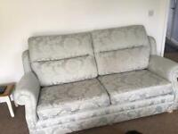 Classic large duck egg blue sofa