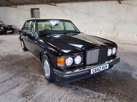 1985 Bentley Turbo R Automatic Black (Ex Sir Elton John) classic car rare rolls royce silver spirit