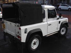 Land Rover defender pickup 2013 / 2480miles