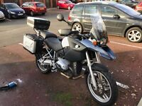 2004 BMW R1200GS - one owner from new, FSH. Panniers, Top Box, ABS, heated grips.