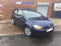 Volkswagen Golf 2.0 TDI Match MK6 VW 2011 Metallic Blue, Parking Sensors,cruise control,bluetoothDAB