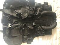 Swat type paintball vest & tac belt
