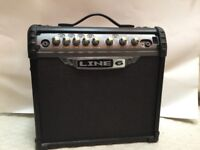 Line 6 Spider III 15 watt Guitar Amp with power cable