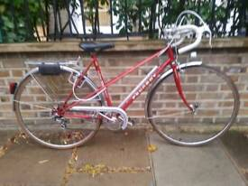 PEUGEOT MIXTE LADIES ROAD BIKE WINE RED EXCELLENT CONDITION