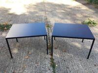 Black Coffee Table (x2)