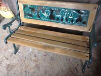Childs Garden Bench