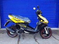 IMMACULATE 2015 TGB R125X SPORTS SCOOTER 125CC , HPI CLEAR ONLY 380 MILES