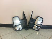 Pair of Electric wing mirrors for Iveco Daily 2016