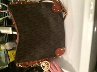 MK (Michael Kors) name brand large purse. Mint Condition