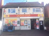 FREEHOLD OFF LICENCE AND NEWSAGENT WITH 3 BEDROOM FLAT