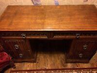 **reduced for quick sale**Antique restored desk