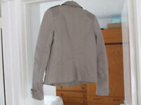 Biker Jacket - River Island Size 6. Excellent condition.