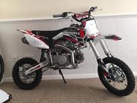 Demon X XLR2 140cc Pit Bike 2 Weeks Old