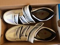 Shimano cycle trainers with cleats never worn