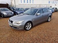 BMW 5 SERIES 2.0 520d SE 4dr, 1 FORMER KEEPER. HPI CLEAR. LONG MOT. FSH. DIESEL. P/X WELCOME