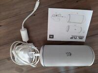 JBL Flip white speaker