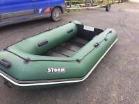Inflatable boat 3m and Minn kota 45