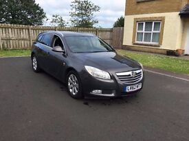 2012 Vauxhall Insignia Grey SRI 160hp 6 speed late 2012 SAT NAV.