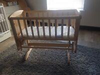 Mothercare Swinging Bedside Crib