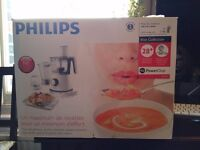 New Philips Viva Collection HR7761/01 750 W Kitchen Food Processor with 2.1 L Bowl in Camberwell