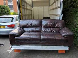 Leather sofa for sale quick sale