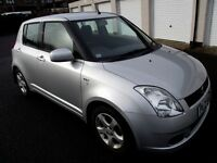 2005 SUZUKI SWIFT 1.5 ....SILVER