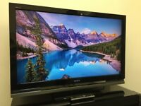 "SONY BRAVIA 47"" FHD 1080p Freeview TV - 4 HDMI - PC - Gloss Black - SRS - USB - Bargain RRP £595"