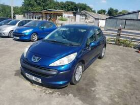 Peugeot 207 S 1.4L 5DR 2007 1 year mot full service history excellent condition