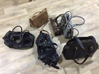 Assorted handbags ladies