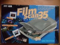 microtek film scan 35, scan and archive your slides, 35mm strips and negatives.