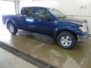 2011 Nissan Frontier SV, Cew Cab 4x4, Spray-In Box Liner, Cargo