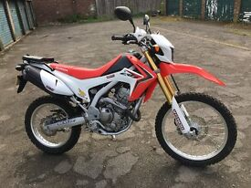 Honda CRF 250L Excellent Condition 2014 Only 504 miles