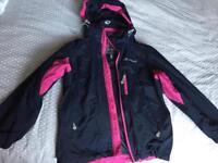 Girls Sprayway waterproof coat age 8-9
