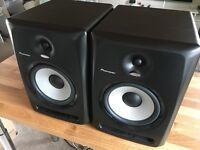 PIONEER SDJ80X Pair - Studio Speakers Monitors - Mint - Fully Boxed