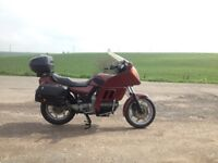 BMW K100 RT 1985 ORIGINAL MOTORBIKE, RED, MOT, (NOT K75)